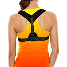 Back Posture Corrector Brace perfect for Womens, Mens & Teens. Improve your posture with Best Elastic Posture Shoulder Back brace. Figure 8 Brace Clavicle Small / Medium