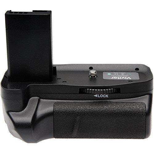 Vivitar Multi-Power Battery Grip for Canon EOS Rebel T3, T5 & T6 DSLR Camera