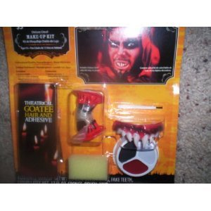 Deluxe Devil Make Up Kit/Halloween Devil Make-Up -