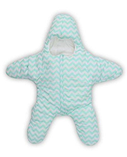 MTTLS Baby Sleeping Bags Baby Schlafsack Wickeln Wrap Decke Buchsen warme Füße Bettwäsche Dual-Use-gemütliche Anti Kick geeignet für Neugeborene