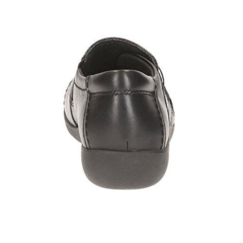 Medora Sandy - Black Leather negro
