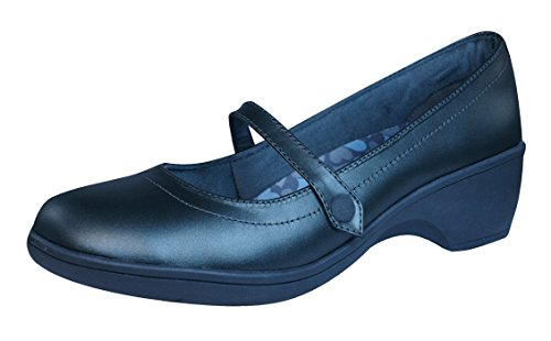 skechers-flexibles-staple-womens-leather-shoes-mary-janes-memory-foam