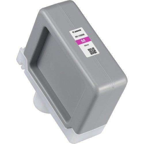 Canon PFI-1100 160ml Magenta Pigment Ink Tank for imagePROGRAF PRO-2000, PRO-4000, PRO-4000S and PRO-6000S Large-Format Inkjet Printers (1100 Printer Inkjet)