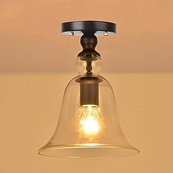 lámpara techo grande campaña
