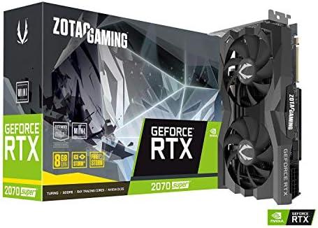Zotac Gaming GeForce RTX 2070 Super Mini 8GB GDDR6 256-Bit 14Gbps Gaming Graphics Card ZT-T20710E-10M