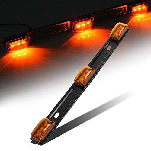 Свет бары Partsam Amber 12V LED