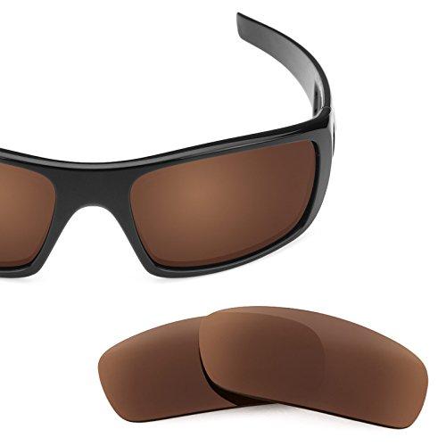 (Revant Polarized Replacement Lenses for Oakley Crankshaft Dark Brown)