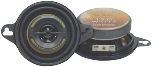 Pyramid 328GS 3.5-Inch 120-Watts 2-Way Speakers (Pyramid Laser)