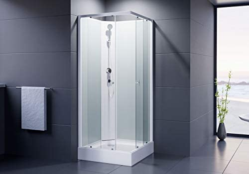 Dusar Completo ducha montado ducha Astoria 80 cm, 195 cm Alto ...