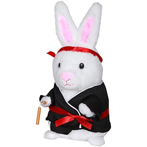 Easter Dancing Kung Fu Fighting Bunny