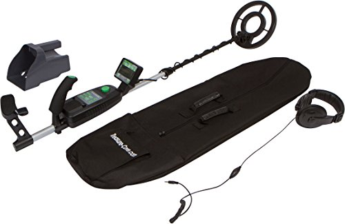 Treasure Cove TC-9700 Fortune Finder Pro Professional Metal Detector Kit With Waterproof Search Coil, and 10-Year Warranty (Treasure Cove Metal Detector)