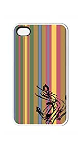 Original New Print DIY Phone case iphone 4s golden - Anchors jagged color