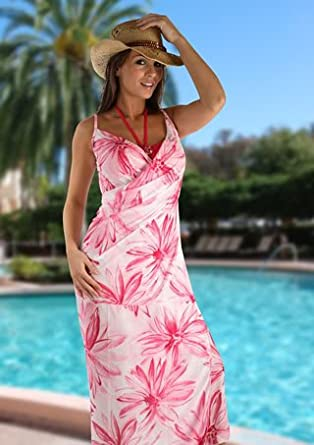 The Saress Beach Cover-Up - Long - Choose from a Variety Of Stylish Colors 610 BETSL
