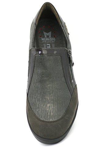 MOBILS by MEPHISTO Women's Loafer Flats Dark Brown m5vm3X5
