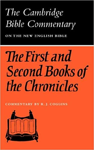 Ebooks epub nedlasting gratis The First and Second Books of the Chronicles (Cambridge Bible Commentaries on the Old Testament) (Norsk litteratur) PDF 0521097584