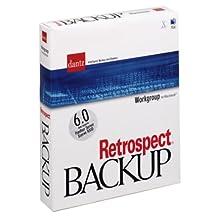 Retrospect 6.1 Workgroup Mac Boxed W/Docs Us#c92872
