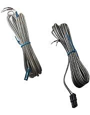 2 cables de altavoz envolvente AH81-02137A para Samsung HT-H4500 HT-J4500 HT-H4500K HT-J5530K HT-J5500 HT-J5500K HT-J5500K HT-J5500W HT-J5500W HT-J5500000W HT-J500W W HT-J5. Sistema de cine en casa 550WK