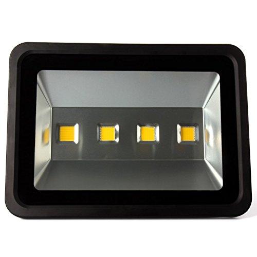 400W LED Fluter Super Hell 40000LM Flutlicht Kaltweiß Wasserdicht IP66 Strahler für Garten Hof Dock