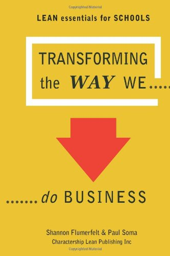 Download Lean Essentials for Schools: Transforming the Way We Do Business ebook