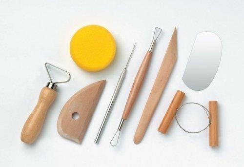 Modellier-Werkzeug-Set 8-tlg. Wacholder China