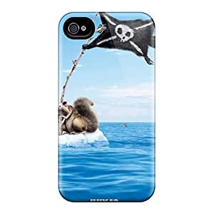 Snap-on Ice Age Continental Drift Case Cover Skin Compatible With Iphone 4/4s