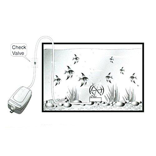 uxcell US Plug SunSun Aquarium Wired Oxygen Air Pump 1.5 L/min 0.015MPa by uxcell (Image #4)
