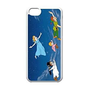 Personalized Durable Cases Ssrzm Ipod Touch 6 Cell Phone Case White Peter Pan Protection Cover