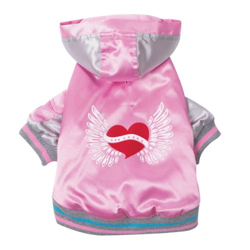 Casual Canine Satin Bomber - 1