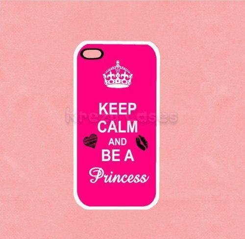 Krezy Case © iPhone 5c case, iPhone 5c Case, Keep Calm and Be a Princess iPhone 5c Cover, iPhone 5c Cases, iPhone...
