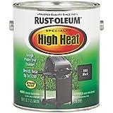 RUST-OLEUM 233967 High Heat Enamel, Barbeque Black