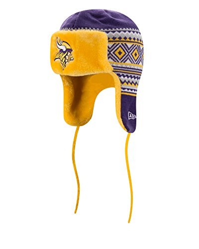 Minnesota Vikings Team Trapper Hat – Football Theme Hats 077b8cada79