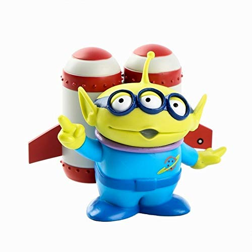 PAPRING Toy Toys Action Figure 3.4 inch Hot PVC Figures Buzz Lightyear Little Green Men Sheriff Woody Jessie Small Model Mini Doll Christmas Halloween Birthday Gifts Cute Collectible for Kids -