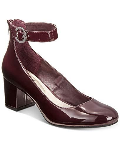 Alfani Womens Ashiaa Closed Toe Ankle Strap Classic Pumps, Mulberry, Size 7.5