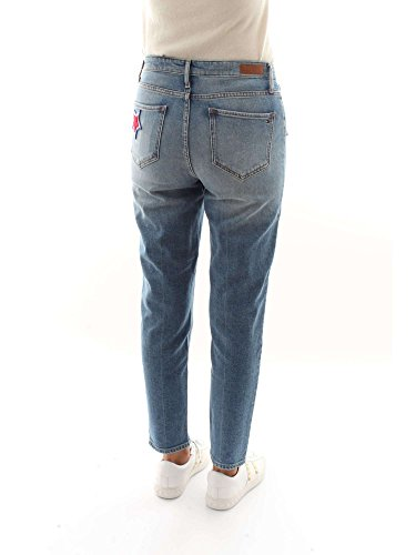 5 Applicate Lavaggio Tasche Jeans Tommy Hilfiger Gramercy Donna Stelle Chiaro Ow1S17q