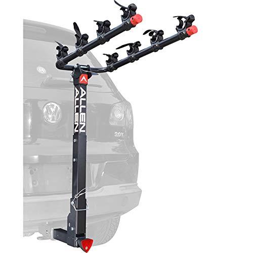 Allen Sports Deluxe Hitch Mounted Bike Rack Carrier (4-Bike)