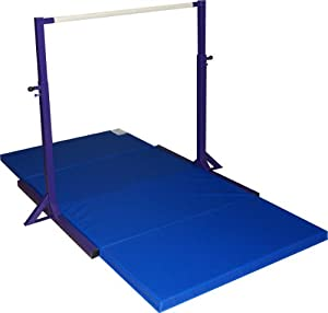 Amazon Com Gymnastics Mini High Bar And 2 Thick Folding