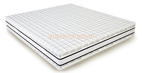 Matratze für Ehebett aus Memory Soya Trial Effekt Haus 160X 190–195–200cm