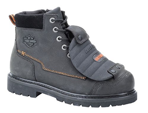Harley-Davidson Men's Jake Steel Toe Safety Motorcycle Boot, Black, 11 W US