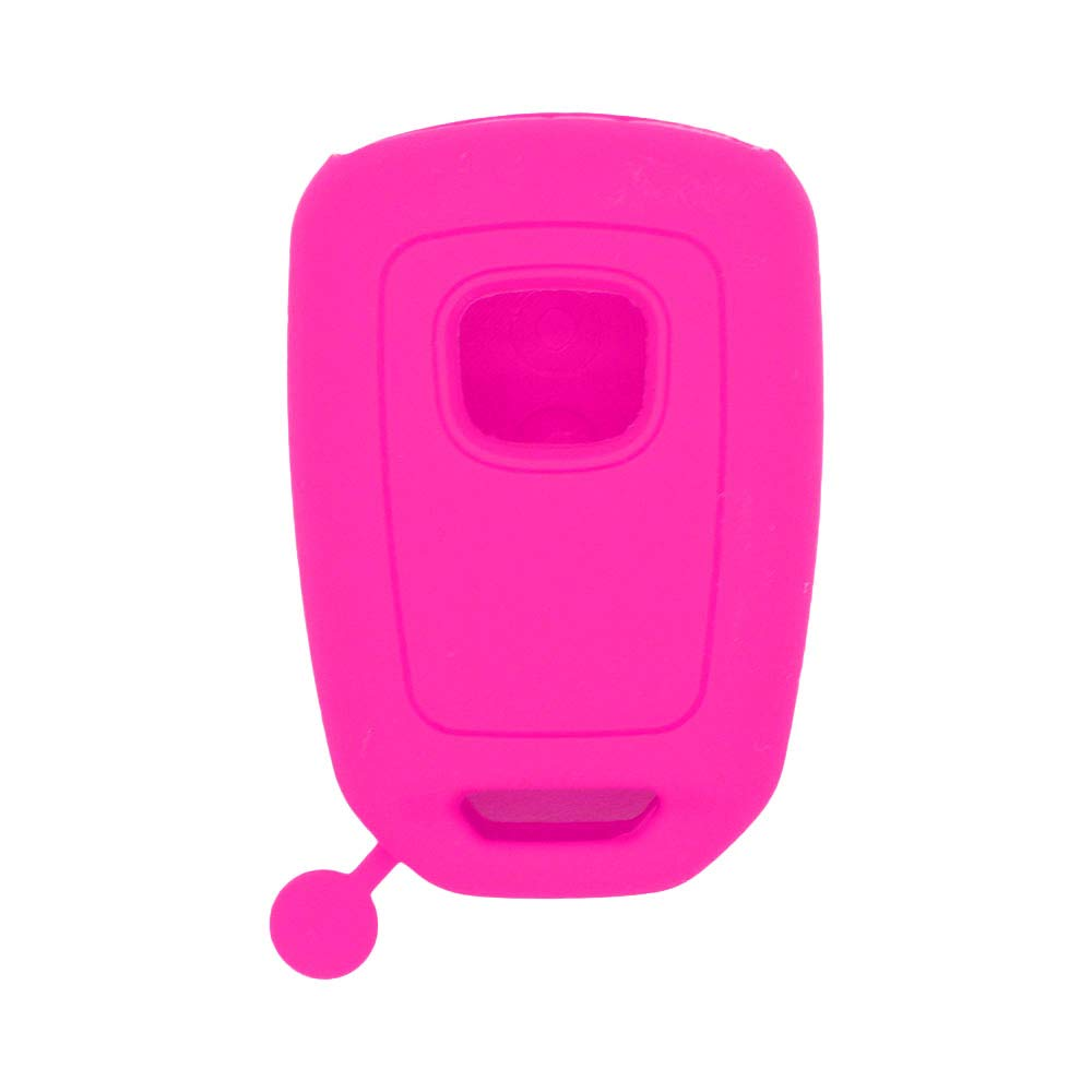 SEGADEN Silicone Cover Protector Case Skin Jacket fit for HONDA 3+1 Hold Buttons 4 Buttons Remote Key Fob CV4213 Deep Purple