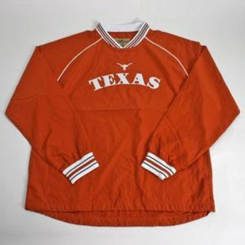 Texas Heisman Pullover Hot Jacket - Burnt Orange - Men - XL