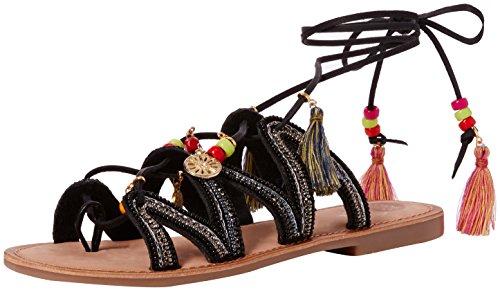 Gioseppo Satanta, Sandalias Mujer Multicolor (Black)