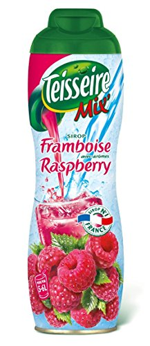 Teisseire French Syrup all natural Raspberry Syrup 20.3fl.oz (4 PACK) (Framboise Raspberry Beer)