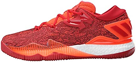official store temperament shoes store adidas Men's Crazylight Boost Low 2016 Basketball Shoe, Solar Red ...