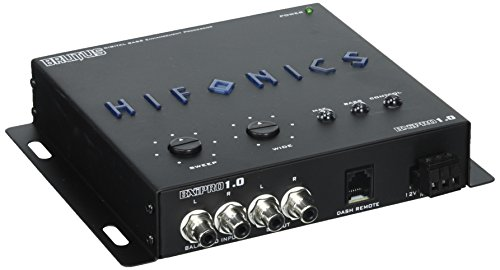 - Hifonics BXIPRO1.0 Digital Bass Enhancement Processor with Dash Mount