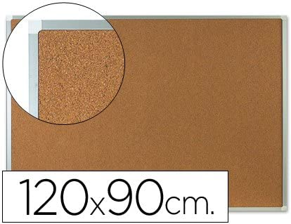 Q-Connect Pizarra Corcho Marco De Aluminio 150X100 Cm Extra Corcho 5 Mm: Amazon.es: Oficina y papelería