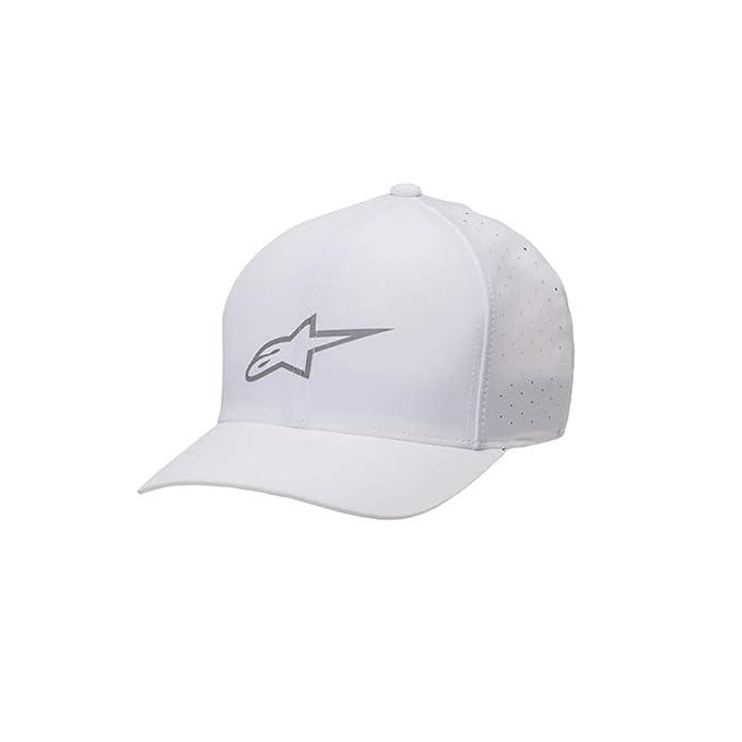 Alpinestars - Gorra de béisbol - para Hombre Blanco Blanco S/M: Amazon.es: Ropa y accesorios