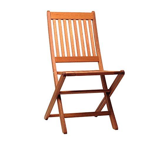 Eucalyptus Wood 2 Chairs - 9
