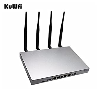 KuWFi WiFi Router, 802 11AC 1200Mbps Dual band Wireless WiFi