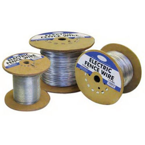 Heavy Electric Fence Wire - Mat Midwest 317752A 1/2-Mile 17 Gauge Electric Fence Wire