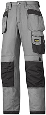 Snickers 3213 Ripstop Cordura ® Pantalones De Trabajo Rodillera Holster Bolsillos Pantalones Nuevo
